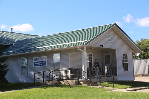 Wauzeka Wisconsin, Post Office, 53826, Crawford County WI