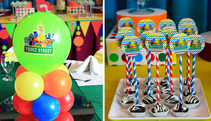 Sesame Street Themed Party