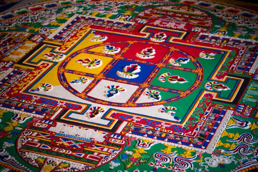 Мандала Ямантаки. Монастыри Ладакха (Монастыри малого Тибета) © Kartzon Dream - авторские путешествия, авторские туры в Ладакх, тревел фото, тревел видео, фототуры