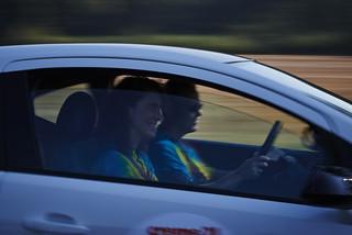 Opel-Mitarbeiter Christian Krauss bei der Rallye Creme 21