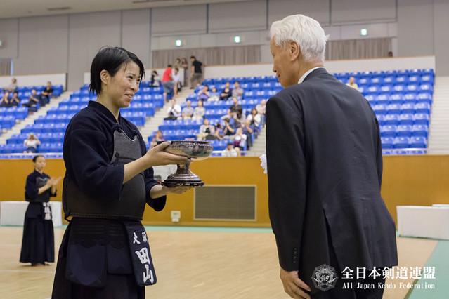 前年度優勝:田山秋恵選手