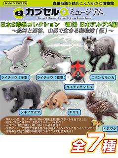 海洋堂 膠囊Q博物館 日本動物篇 第8彈