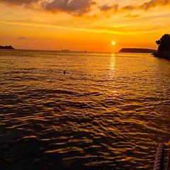 sunset at Cave Bar Dubrovnik