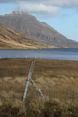 autumn mountain landscape iceland layers westfjords