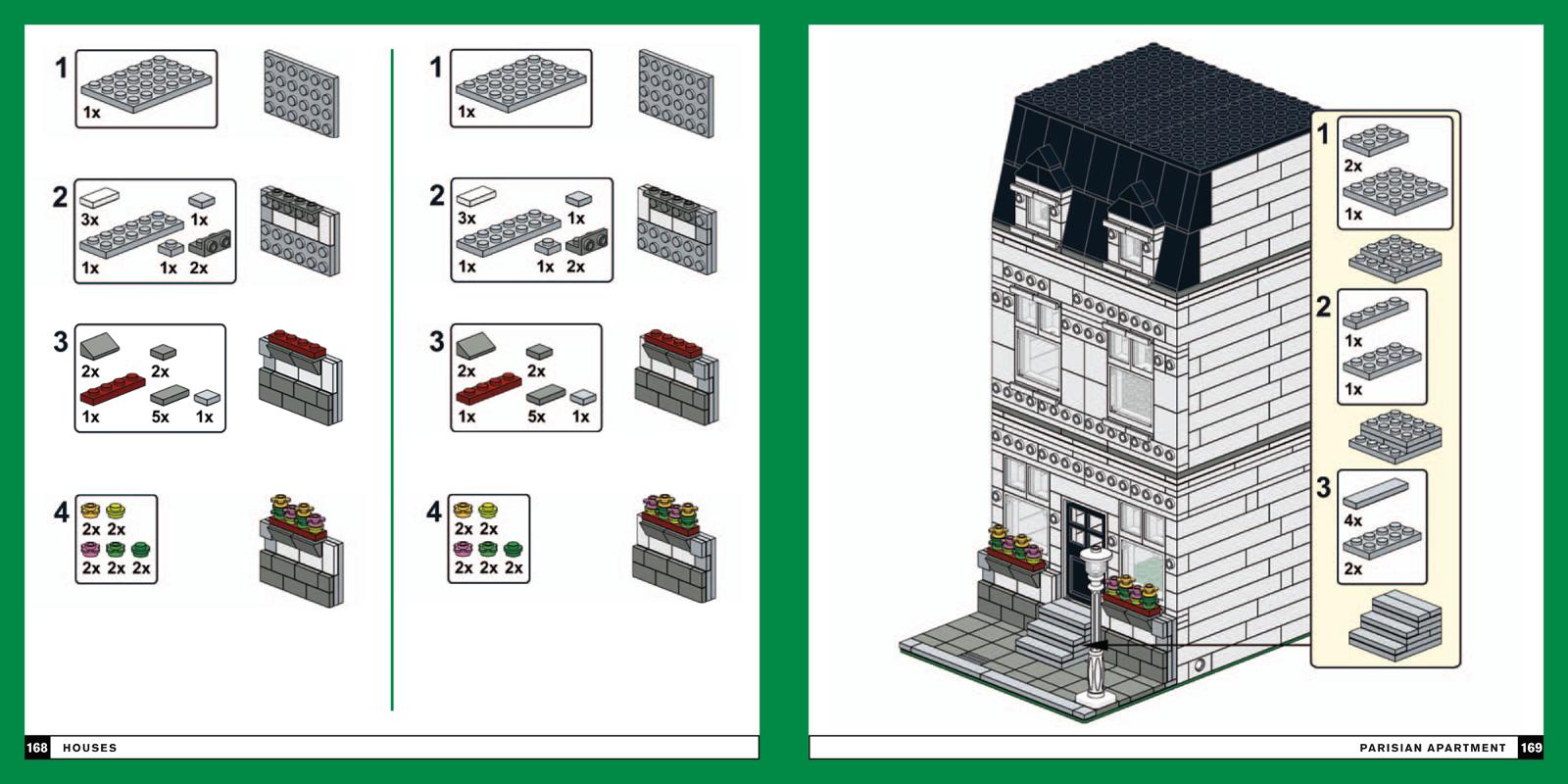 Modular LEGO instructions