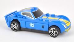 race car, model car, automobile, vehicle, automotive design, shelby daytona, scale model, land vehicle, supercar, toy, sports car,