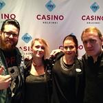 Casinohostit pääsi Apiksen kainaloon,Toni vain ehti pakoon! @apulantaofficial #casinohosts #eturivikeikka @casinohelsinki