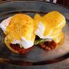 Chicken Nuggets Egg Benedict!! @kalyanesl @priscillaxo Happy Friday!!