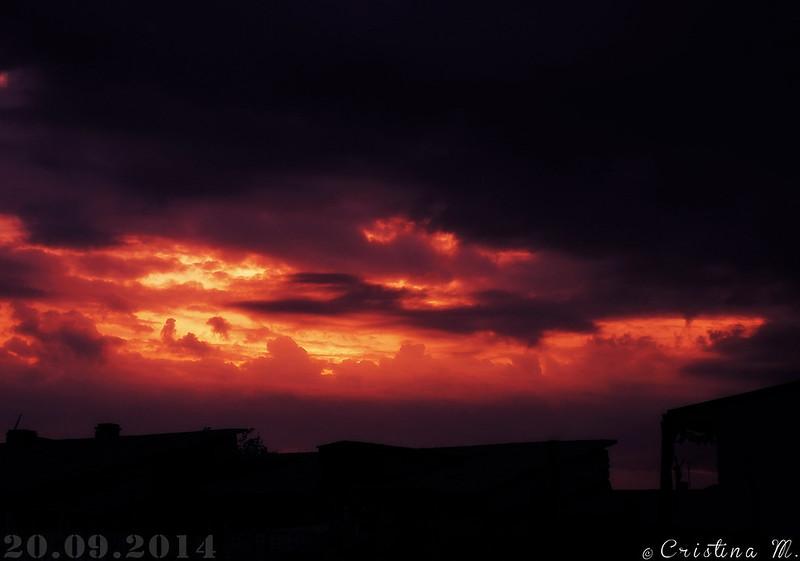 Sunset - 20.09.2014