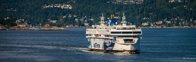 2014 - Vancouver - Alaska Cruise - BC Ferries Coastal Renaisance_