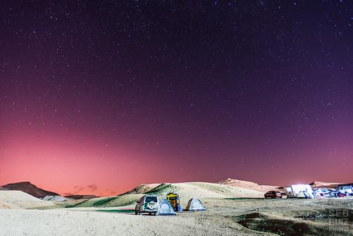 camping israel desert