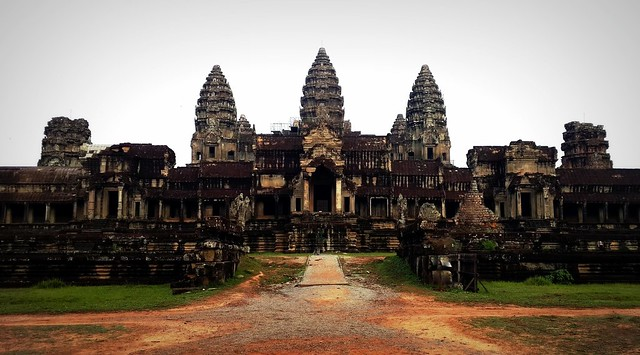 View of Angkor Wat from the east
