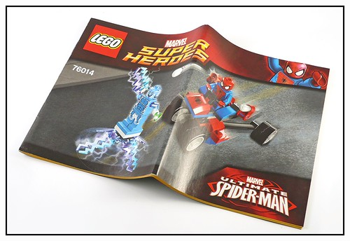 LEGO Marvel Super Heroes 76014 Spider-Trike vs Electro in1