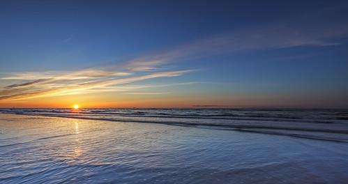 sunset sky sun seascape reflections landscape denmark hirtshals manfrotto 6d jylland digitalblend landoflight canoneos6d