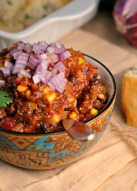 Vegetarian Quinoa Chili 4