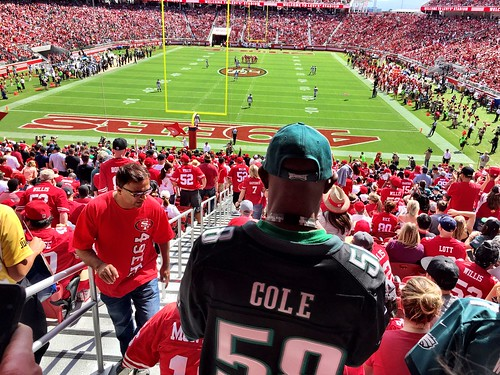 #Eagles vs. San Francisco 49ers. Awesome first half.