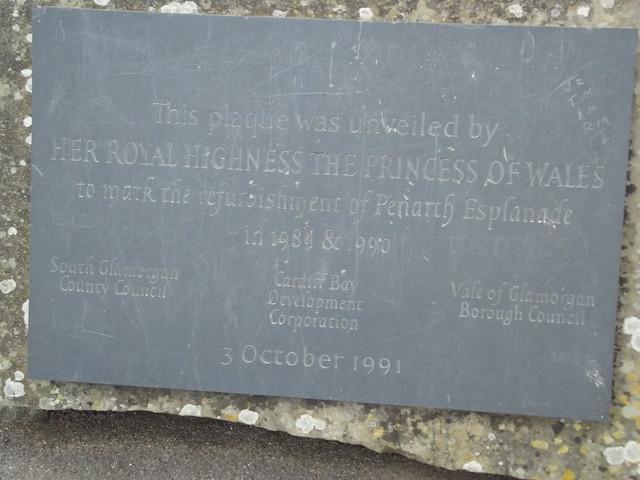 Photo of Diana slate plaque