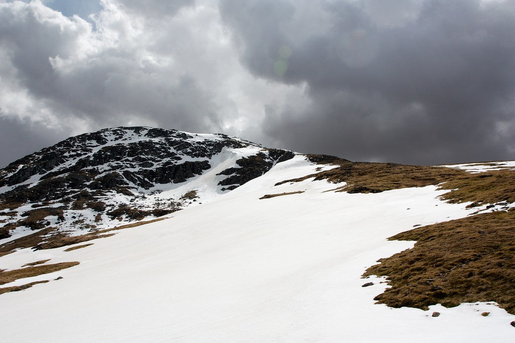 Clouds over Creag Mhor