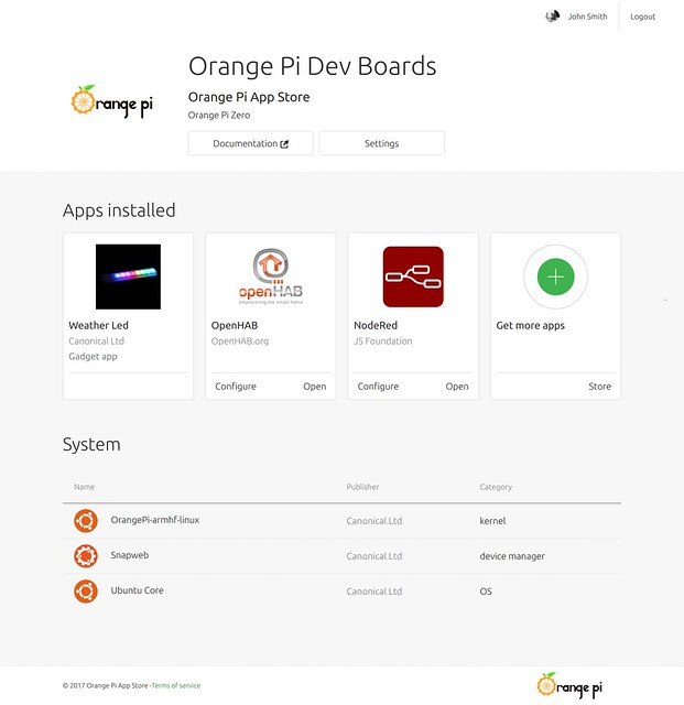 Canonical lance un App Store dédié aux cartes de dev Orange Pi