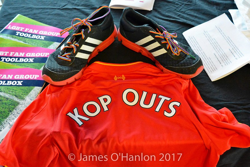 Kop Outs Liverpool Top and boots