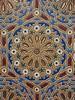 Door - Tiles in Raisouni Palace, Assilah - Morocco. by Pixeltravel