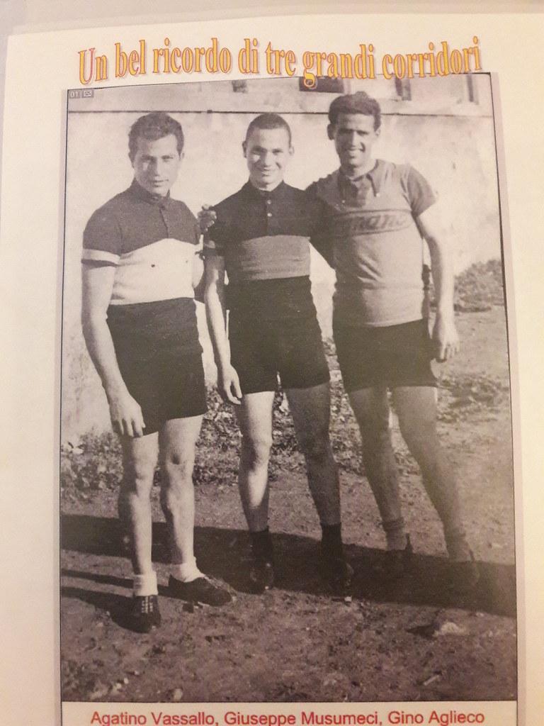 Agatino Vassallo, Giuseppe Musumeci, Gino Aglieco