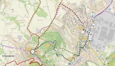 6. trasa z Kopřivnice přes Paseky, vhodné pro kočárky – 7 km (propozice + mapa)