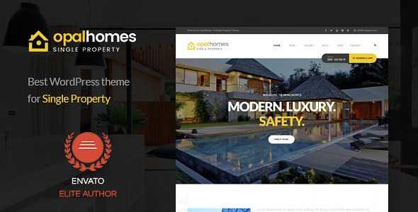 Opalhomes WordPress Theme free download