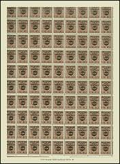 Stamps Croatia NDH 5749 M arak NDH Aufdruck MiNr. 43 - 46