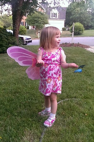 Lucy the butterfly fairy