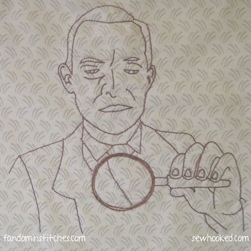 Holmes Has A Look