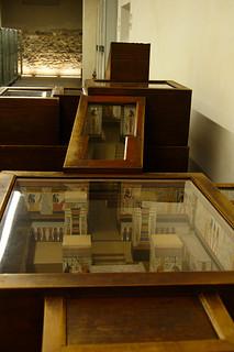 Model of Nefertari's Tomb