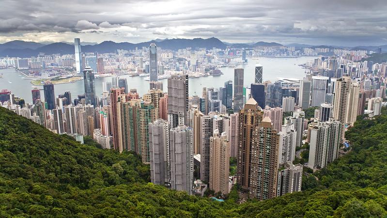 Hong Kong panorama - day