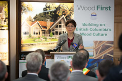 BC investing $2.14 million to put wood first