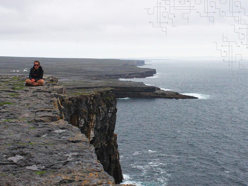 Um dos lugares mais incríveis que já vi - Dún Aonghasa, Aran Island