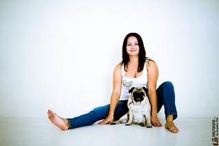 Фотография Дама с собачкой 2