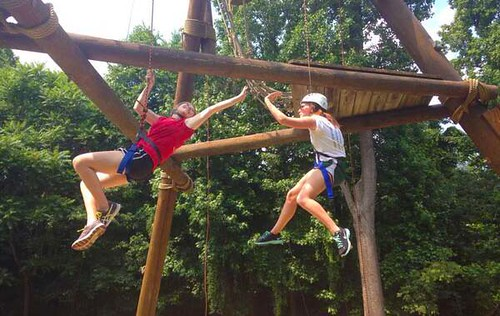 INTL ropes course