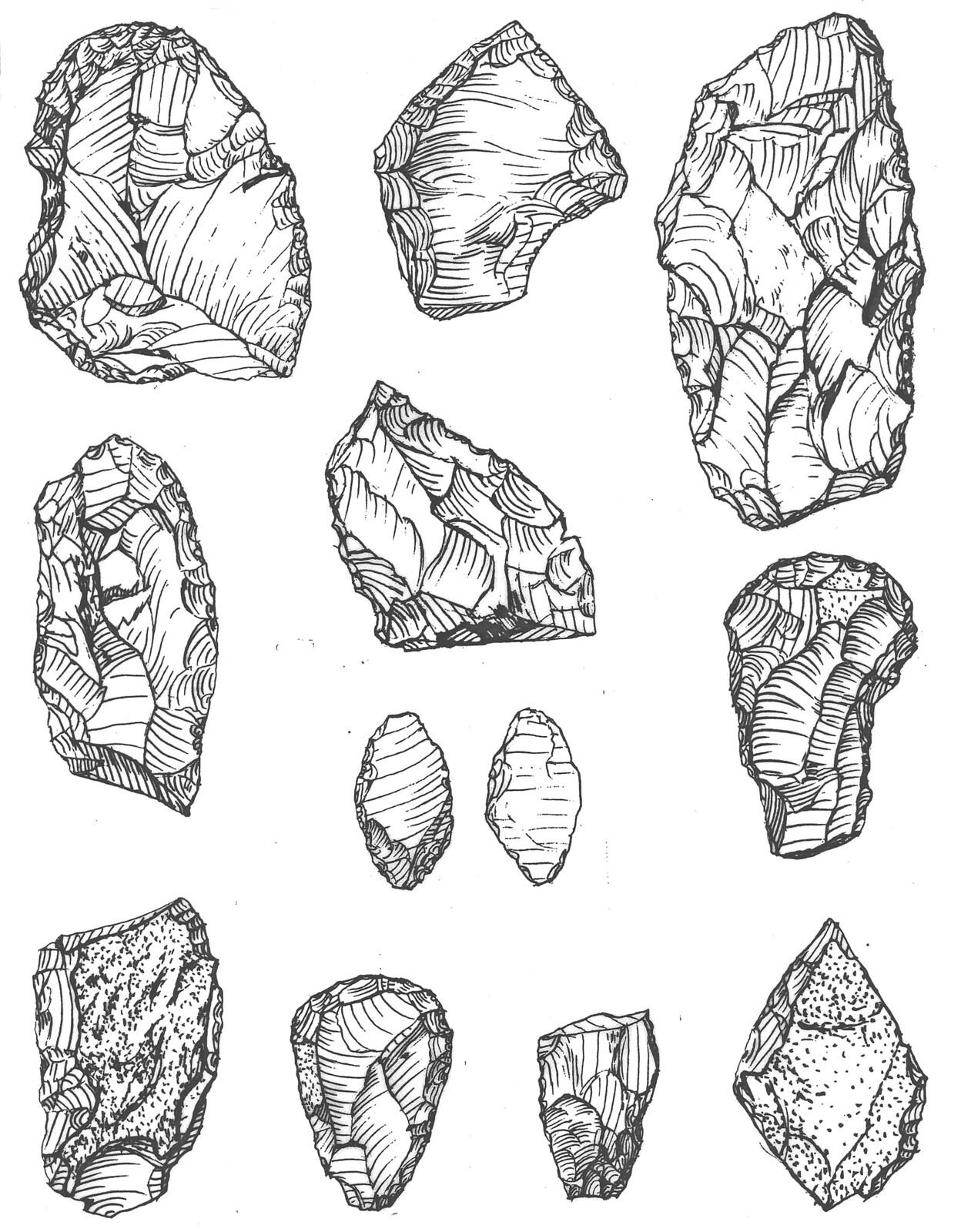 Acsa-Rovnya Aurignacian Figure 9.
