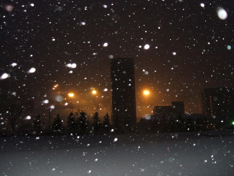 苗場スキー場のナイター_200712