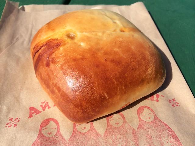 Cabbage ragout piroshki - Anda Piroshki