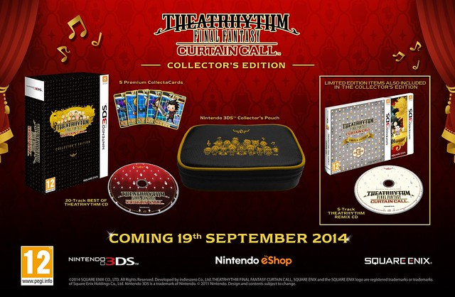Theatrhythm Final Fantasy Curtain Call Collector's Edition