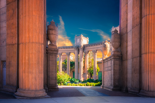 sanfrancisco california city thecity palaceoffinearts