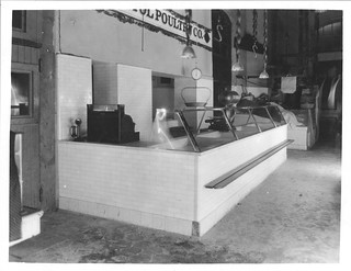 Photograph of a Poultry Stand in Center Market, 10/1923