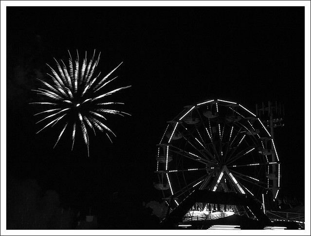 4th of July In Webster Groves 2014 9 BW