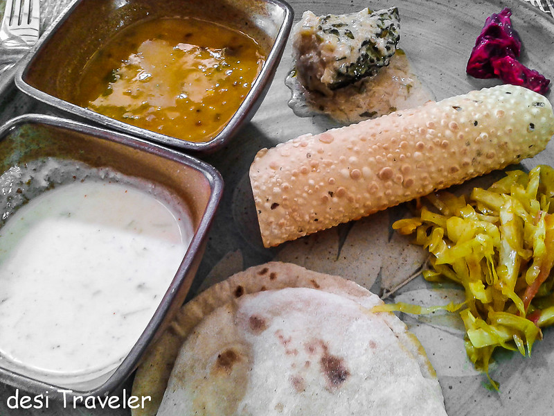 Home Style Indian Vegetarian meal