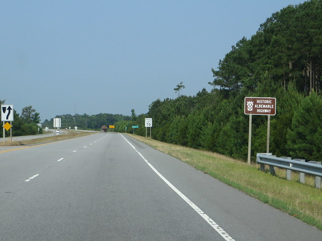 Historic Albemarle Highway, U.S. 64, Near Columbia, North Carolina