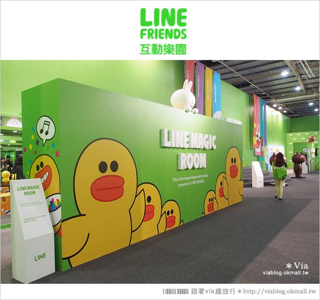 【台中line展2014】LINE台中展開幕囉!趕快來去LINE FRIENDS互動樂園玩耍去!(圖爆多)37