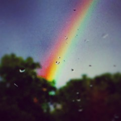 rainbow, sunlight, macro photography, sky,