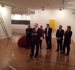 Inauguración de la exposición 'Realidad y Símbolo'