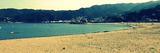 Nagahama Beach in Atami City, Shizuoka, Japan